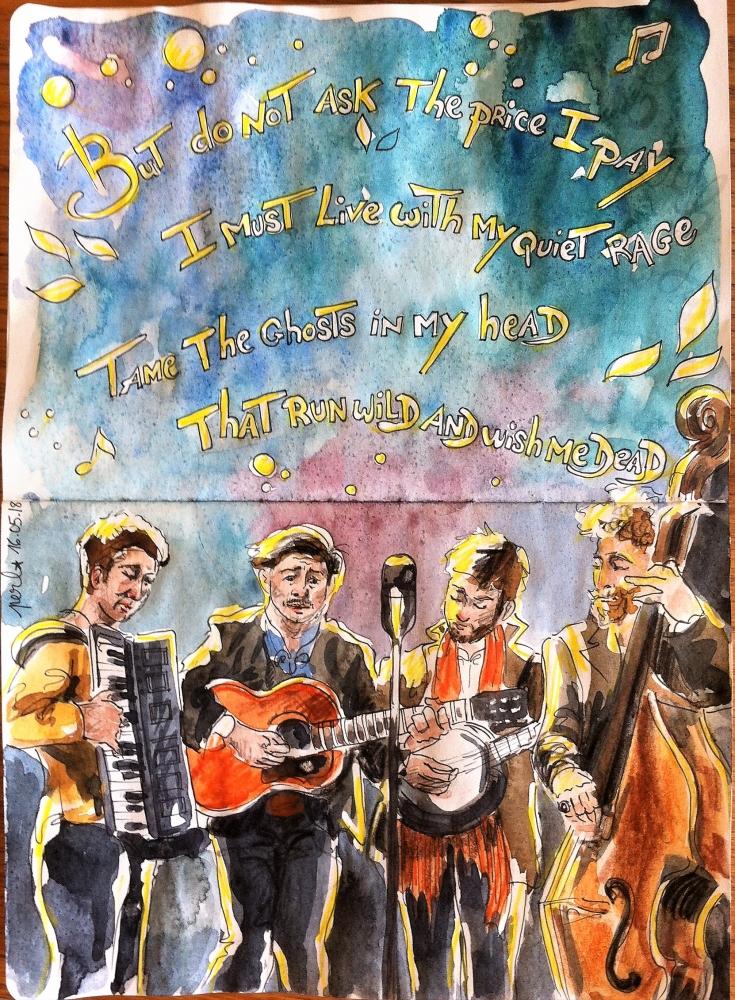 Mumford & Sons by Garance55